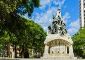 Memorial for Bartomeu Robert, Placa de Tetuan, Barcelona. — Stock Photo