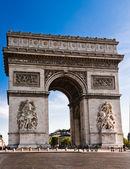The Arc deTriomphe in Paris — Stockfoto