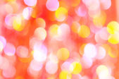 Beautiful abstract background of holiday lights — Stock Photo