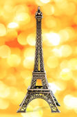 Eiffel Tower Statue — Stock Photo