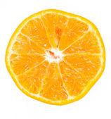Rebanada cítrico mandarina — Foto de Stock