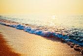 Tranquil Beach Sunrise — Stock Photo