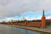 View of the Kremlin Embankment in Moscow — Stock Photo