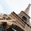Vertical oriented image famous Eiffel Tower in Paris, France. — Stock Photo #22563097