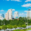City park in Yekaterinburg, Russia — ストック写真