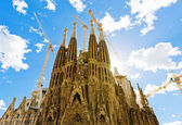 Sagrada Familia Temple in Barcelona — Foto de Stock