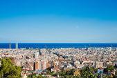Panoráma města barcelony. španělsko. — Stock fotografie