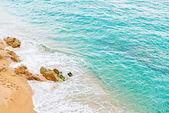 Mar praia e tropical — Foto Stock