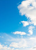 Beautiful blue sky — Foto Stock