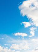 Krásná modrá obloha — Stock fotografie