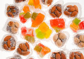 Turkish Delight - the famous sweet food — Stock Photo