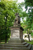 The statue of St. Wenceslas at Vysehrad — Stock Photo