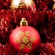 Foto de Stock  : Christmas-tree decorations