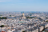 Les invalides - Aerial view of Paris. — Stock Photo