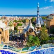 Park Guell in Barcelona, Spain. — Stock Photo #23911343