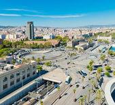 Panorama view of Barcelona — Foto Stock