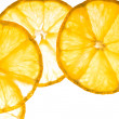 Lemon slices — Stock fotografie