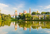 Novodevichy convent in Moscow, Russia — Stockfoto