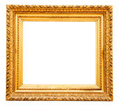 ヴィンテージ ゴールド フレーム — ストック写真