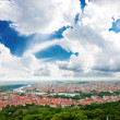 Colorful landscape of Prague (Praha) — Stock fotografie