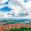 Colorful landscape of Prague (Praha) — Stok fotoğraf