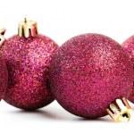 Red christmas balls — Stock Photo #34306511