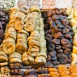 Dried fruit at Spice Market in Istanbul, Turkey — Stock Photo