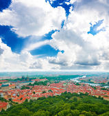 Colorful landscape of Prague (Praha) — Stock Photo
