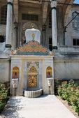 Fountain of Sultan Ahmed III in Istanbul, Turkey — Stock Photo