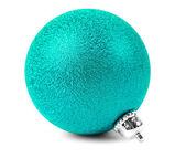Green Christmas ball — Stock Photo