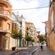 Street of Calella — Foto Stock