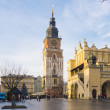 Street in historical center of Krakow — Stock Photo #37099125