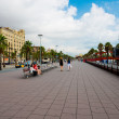 Stock Photo: Street in port Vell , Barcelona