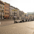 Street in historical center of Krakow — Stock Photo #37099249