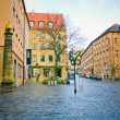 Street of Nuremberg . Bavaria, Germany. — Foto Stock