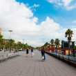 Stock Photo: Street in port Vell, Barcelona