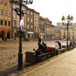 Street in historical center of Krakow — Stock Photo #37099373