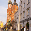 St. Mary's Church in Krakow — Stock Photo