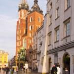 St. Mary's Church in Krakow — Stock Photo