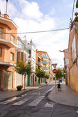 Street of Calella — Stock Photo