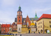 Wawel Royal Castle in Krakow, Poland — Foto Stock