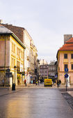 Street in historical center of Krakow — Photo