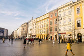 Street in historical center of Krakow — Stock fotografie