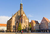 Frauenkirche in Nuremberg — ストック写真