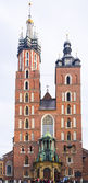 St. Mary's Church in Krakow — 图库照片