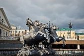 "Fountain ""Four Seasons"" by Zurab Tsereteli — ストック写真"