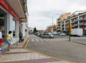 Street of Calella . — Stock Photo