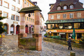 Street of Nuremberg. Bavaria, Germany. — Foto de Stock