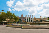 National Palau of Montjuic in Barcelona, Spain — Stock Photo