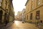 Street in historical center of Krakow — ストック写真